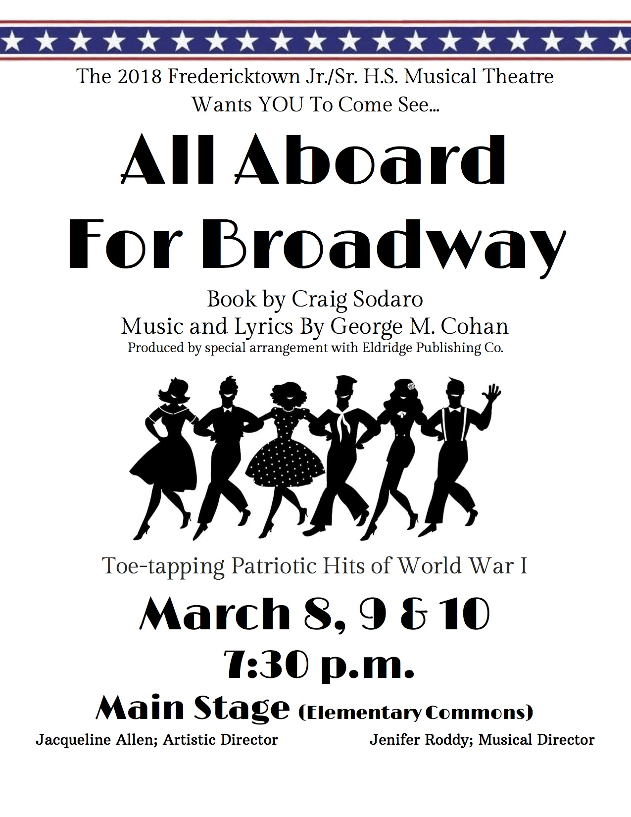 All Aboard For Broadway
